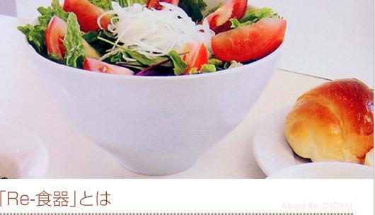 食器 リサイクル 陶器 インテリア 小物 エコ 株式会社ヤママ陶苑 「Re-食器」について